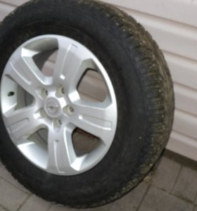Легкосплавные колеса 7Jх17, 5 спицевые