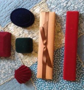 Упаковочные коробочки для ювелирных украшений