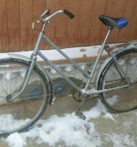 Велосипед дамский. Взрослый.