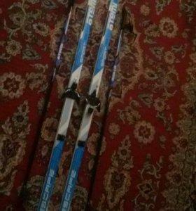 Лыжи пластиковые