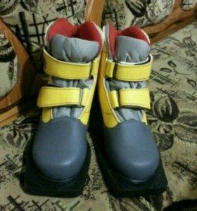 Ботинки лыжные Marax NN75 Kids (детские)
