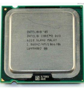 core 2 duo 6320 + box куллер intel