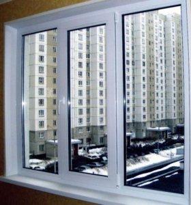 Пластиковые окна (окна ПВХ, остекление)