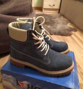 Зимние ботинки (подобие тимберлендов)