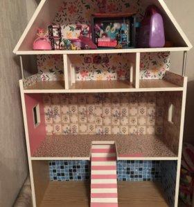 Дом для кукол и мебель