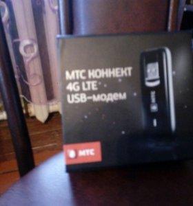 Модем мтс и Билайн 4G