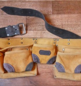 Пояс для инструментов из натуральной кожи kraftool