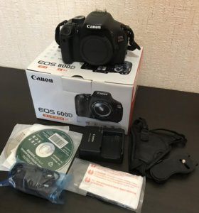 Фотоаппарат Canon 600d body