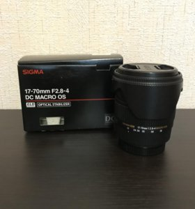 Объектив Sigma AF 17-70mm F2.8-4.0 DC MACRO canon