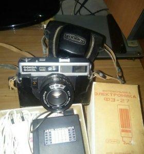 Фотоаппарат Сокол2 с фото вспышкой