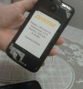 Смартфон DIGMA LINX A420 3 G