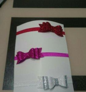 Праздничная повязка для малышки