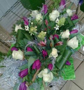 Цветы ...букеты