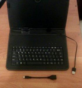 Чехол для планшета со встроенной клавиатурой