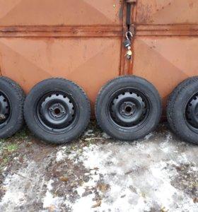 Good/Ear R15 резина185/65 шипы, цена за 4 колеса