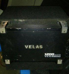 усилитель velas vcx 4800