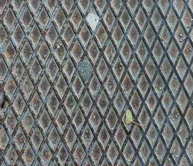 Лист стальной рифленый, размер 1.5х3м толщина 4мм