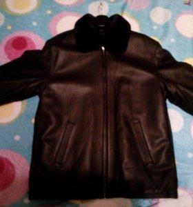 Куртка зимняя на съемной меховой подстежке