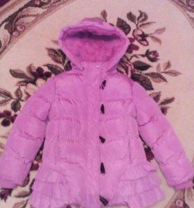 весна  куртка на 3-4года
