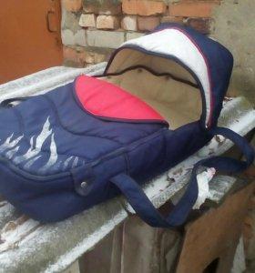 детская коляска с переноской