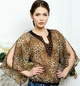 Нарядная блуза 46-48р