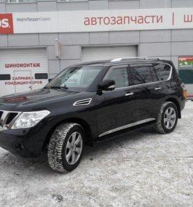Nissan Patrol 2011 (Y62) 5.6 AT (405 л.с.)