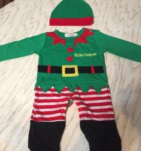 Новогодний детский костюм.
