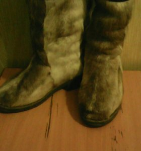 Обувь унты