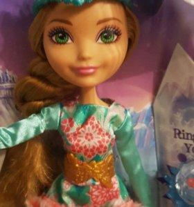 Кукла Ever After High Заколдованная зима Эшлин Элл