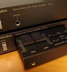 Technics A7 и Technics A8