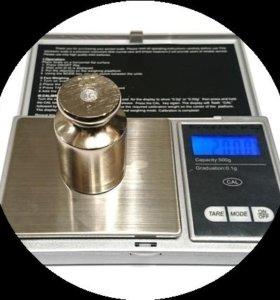 Весы электронные, ювелирные, карманные 0,01 гр