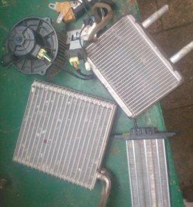 Печка на хундай портер с радиатором .
