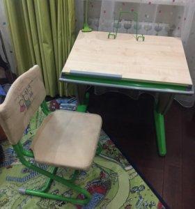 Парта Дэми + стул (комплект)