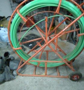 катушка для протяжки кабеля.