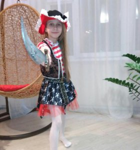 Пиратка новогодний костюм