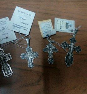 Кресты ,серебро 925