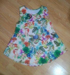 Футболка- блуза для беременных