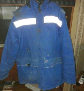 Спецовка куртка зимняя б/у