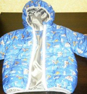 Куртка на мальчика 92 размер