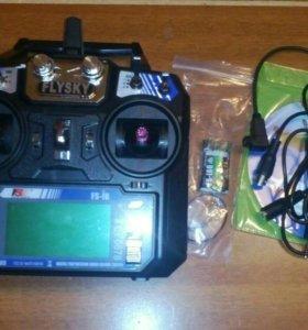 Аппаратура с приёмником FlySky.
