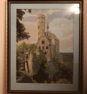 Картина «Замок в горах»