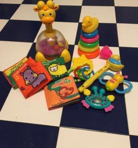 Развивающие коврики и детские игрушки