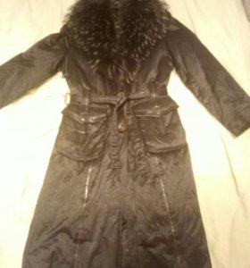 Пальто зимнее натуральный мех❄