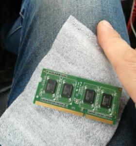 Оперативная память для ноута DDR3L 2GB