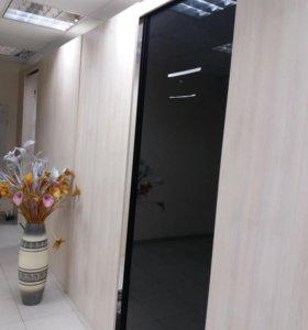 Перегородки- шкафы с раздвижными дверями