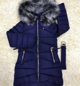 Новая куртка на девочку, рост 158
