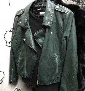 Куртка кожаная!