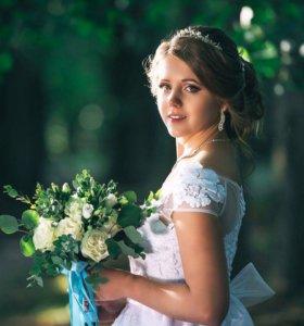 Прически, макияж, свадебные и вечерние образы.