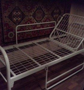 Кровать медицинская функциональная для лежачего