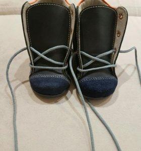 Ботиночки на первый шаг Скороход р-р 17 новые